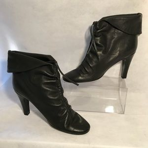 Sigerson Morrison Leather Ankle Booties Sz 9.5